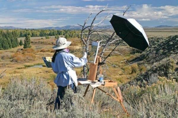 Jackson Hole Artist Michele Jenkinson