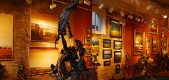 spectacular art galleries in jackson hole